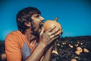 man-pumpkin